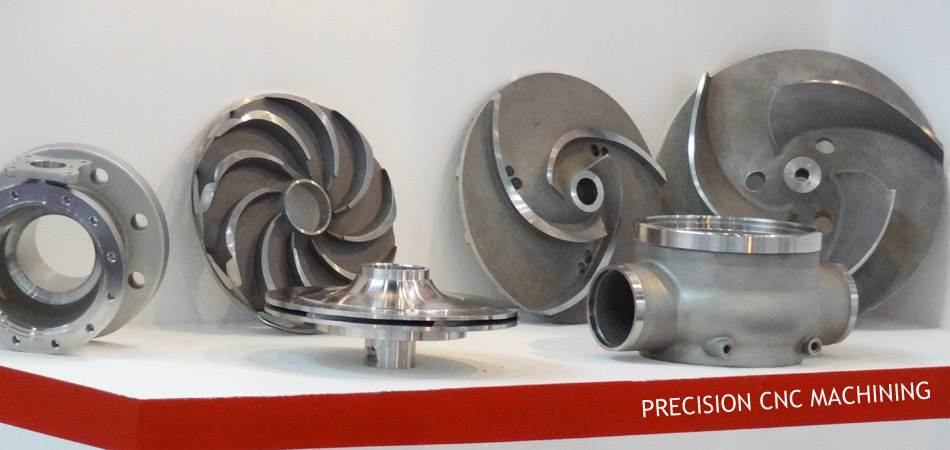 machined stainless steel investment casting